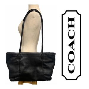 Coach Vintage Extra Large Leather Shopper Tote
